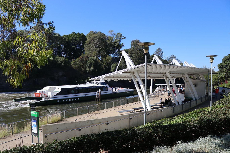 Parramatta Rivercat Wharf